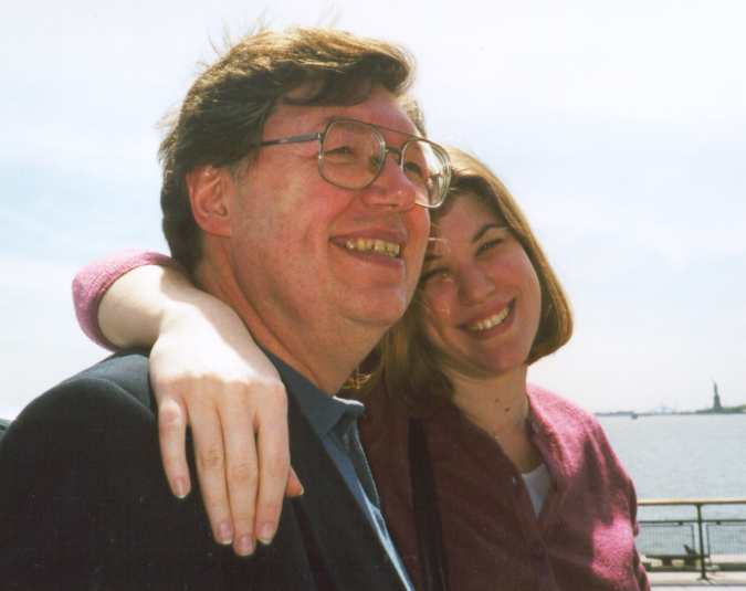 Image of Thom and daughter Annie.